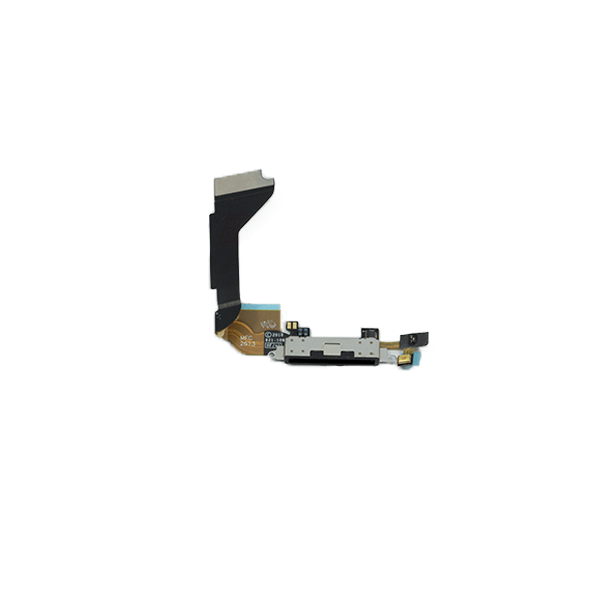 iPhone 4 Dock Connector Flex Cable - Black (GSM)