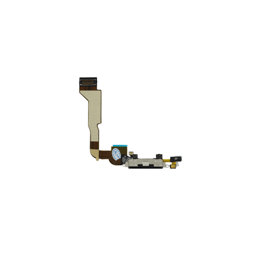 iPhone 4 Dock Port Connector Flex Cable - Black (CDMA)
