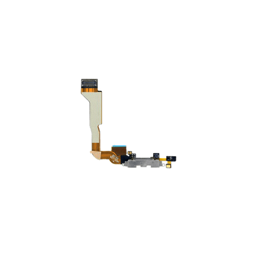 iPhone 4 Dock Port Connector Flex Cable - White (CDMA)
