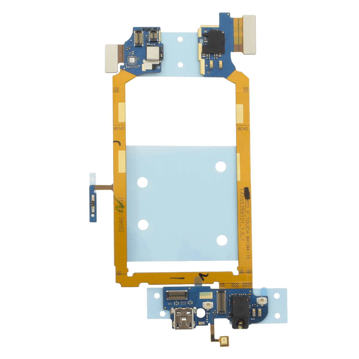 LG G2 D802 D805 Dock Port & Headphone Jack Assembly