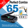 UV-C Light Smartphone Sanitizer Bundle -Black