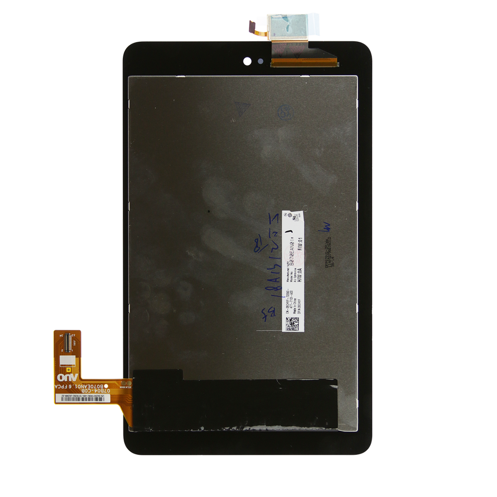 3740 Tablet Repair Part LCD Screen Digitizer Touch Assembly For Dell Venue 7