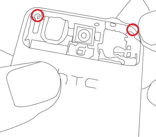 HTC Legend Take Apart Repair Guide