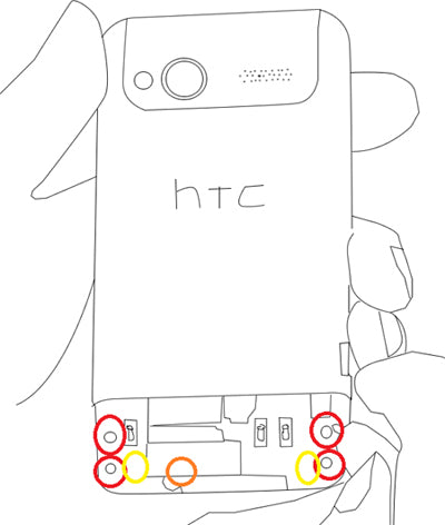 HTC Radar 4G Take Apart Repair Guide