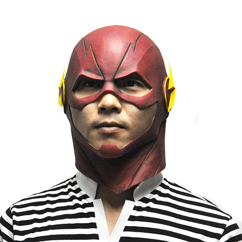 The Flash Mask DC Movie Halloween Full Head Latex Party Masks