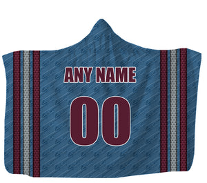 Customized Colorado Hooded Blanket