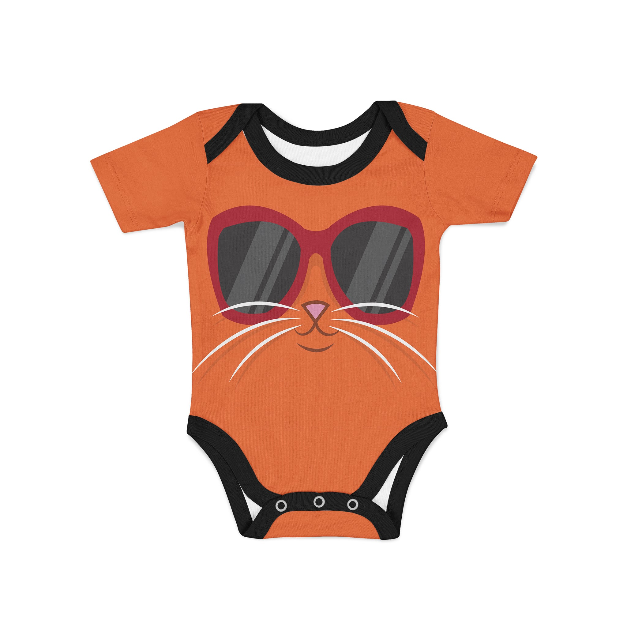 Infant Cool Cat Onesie,Preemie / Multicolored / Buttersoft