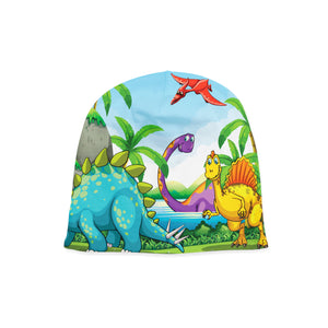 Infant Dino Island Beanie,Preemie / Multicolored / Buttersoft