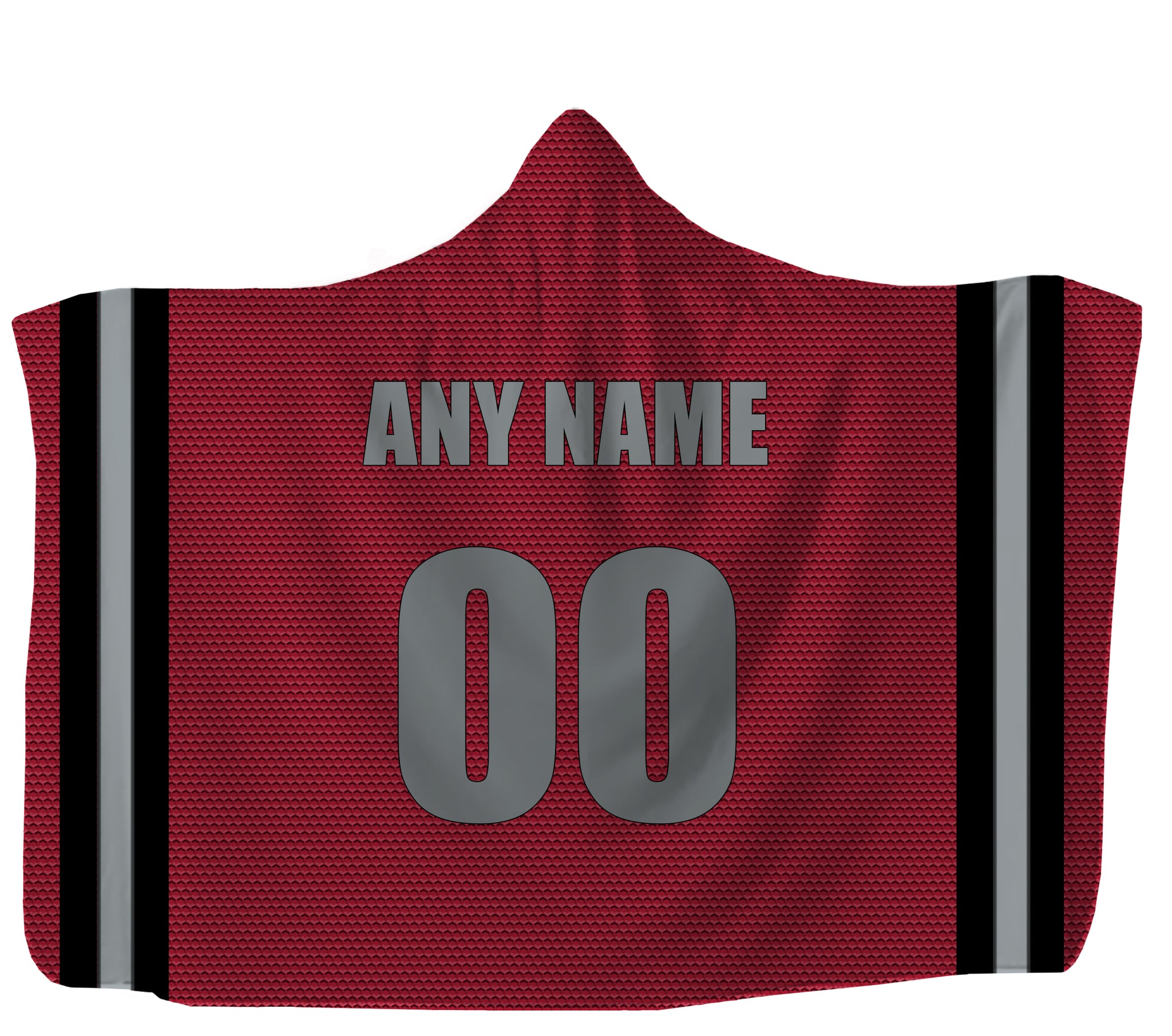 Customized Atlanta Hooded Blanket