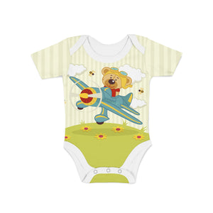 Fly Teddy Onesie,Preemie / Multicolored / Buttersoft