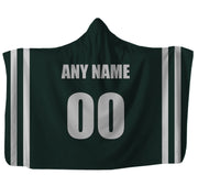 Customized New York Hooded Blanket