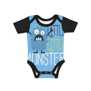 Infant Little Monster Onesie,Preemie / Multicolored / Buttersoft