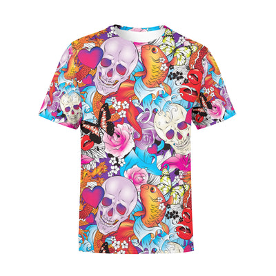Men's Tattoo Skulls T-Shirt