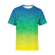 Men's Beach Triangles T-Shirt
