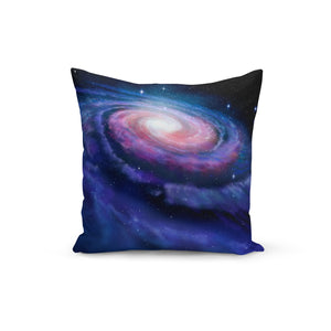 Milky Way Throw Pillows,18x18 / Multicolored / Polyester