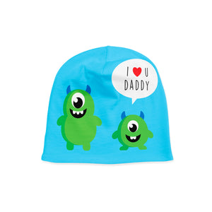 Infant Monster and Daddy Beanie