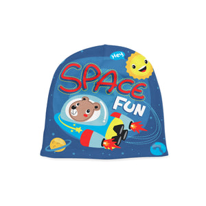 Infant Space Fun Beanie,Preemie / Multicolored / Buttersoft