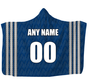 "Customized Toronto Hooded Blanket,Adult 55""x80"" / Sweatshirt Fleece"