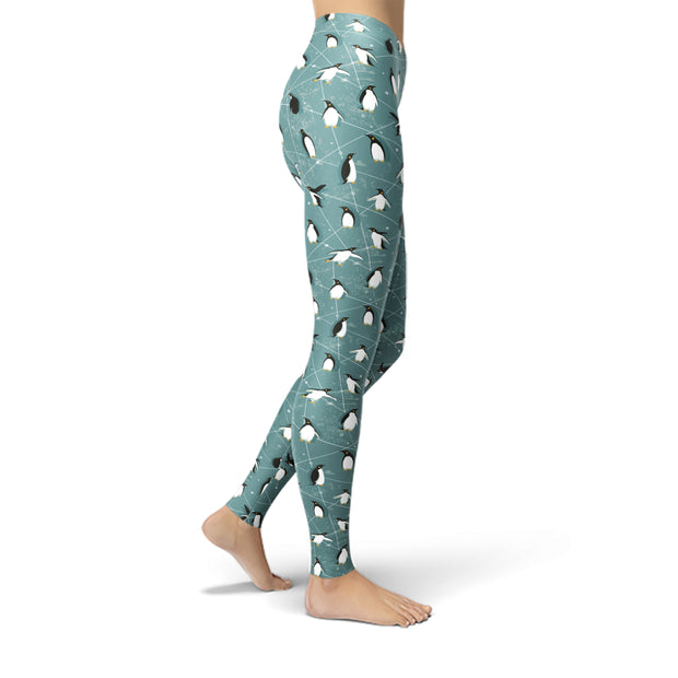 Tonya Penguin Leggings