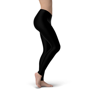 Tonya Black Soft Lycra Leggings