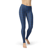 Tonya Blue Plaid