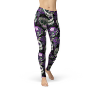 Catrina Purple Sugar Skulls