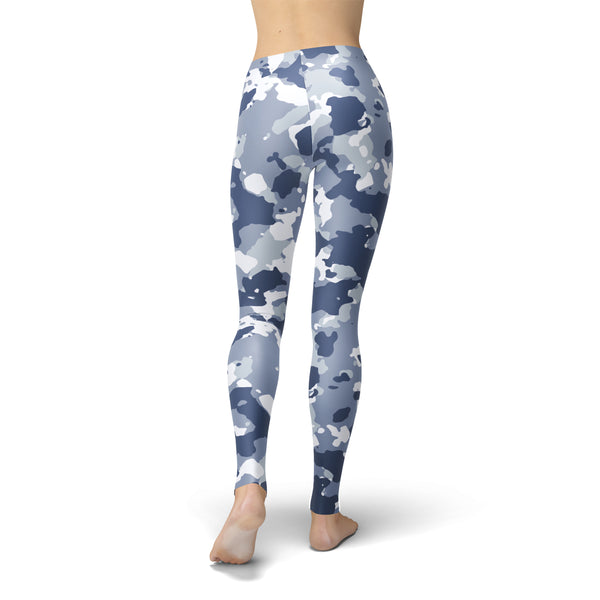 Tonya Dark Blue Camo