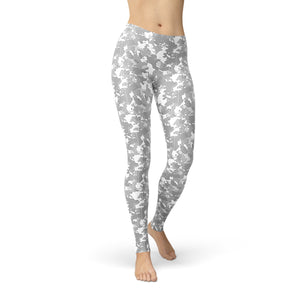 Tonya Light Grey Camouflage