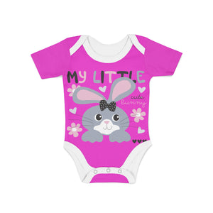 Infant Cute Little Bunny Onesie,Preemie / Multicolored / Buttersoft
