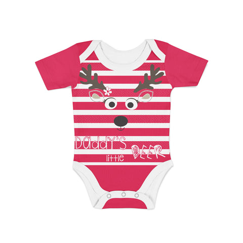 Infant Little Deer Onesie,Preemie / Multicolored / Buttersoft