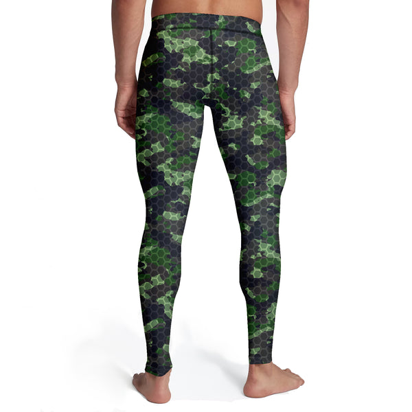 Men's Army Hex Camo Tights