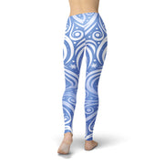 Tonya Blue Winter Swirl