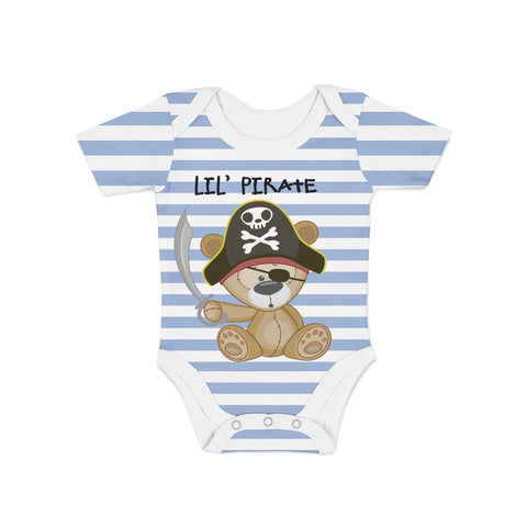 Infant Lil Pirate Onesie,Preemie / Multicolored / Buttersoft