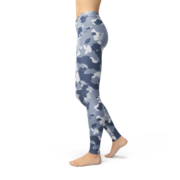 Leslie Dark Blue Camo