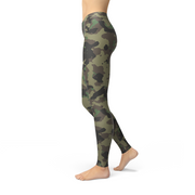 Leslie Dark Green Camo