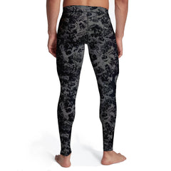 Mens Faded Skulls Tights