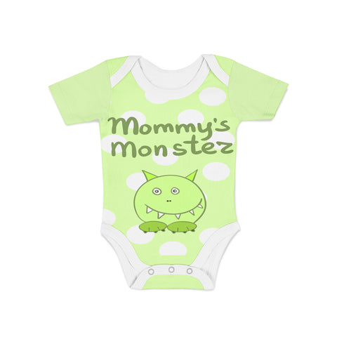 Infant Mommys Monster Onesie,Preemie / Multicolored / Buttersoft