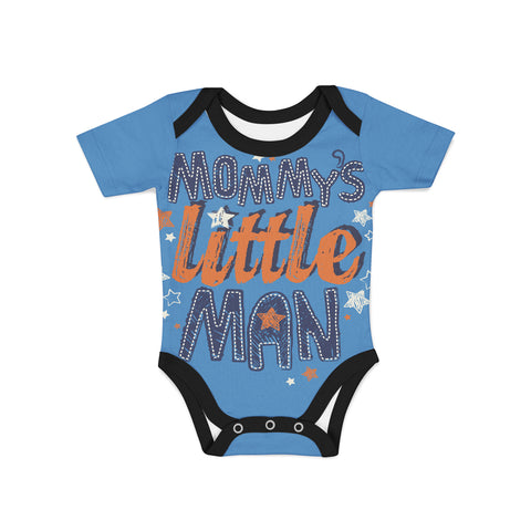 Infant Little Man Onesie,Preemie / Multicolored / Buttersoft