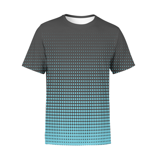 Men's Blue Dots T-Shirt
