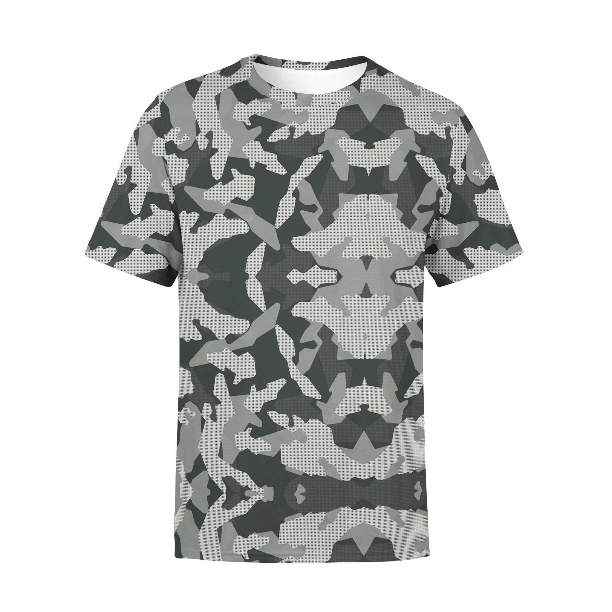 Men's Digital Grey Camo T-Shirt,S / Multicolored