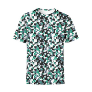 Men's Green white Camo T-Shirt