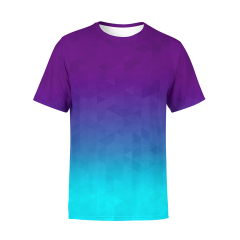 Men's Deep Sea Triangles T-Shirt,S / Multicolored