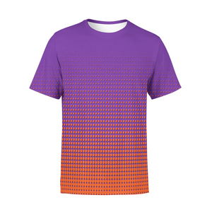 Men's Orange Dots T-Shirt,S / Multicolored