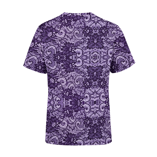 Men's Purple lace T-Shirt