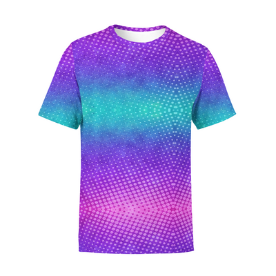 Men's Colorful Dots T-Shirt
