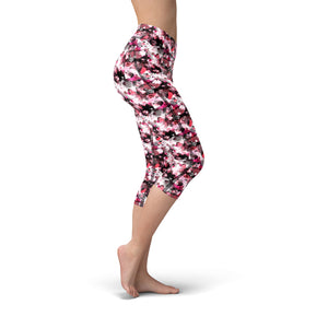 Nellie Yoga Red Pink Hearts