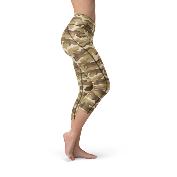 Nellie Yoga Tan Camo