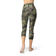 Nellie Yoga Dark Green Camo