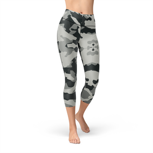 Nellie Yoga Digital Grey Camo,XS / Multicolored / Soft Lycra