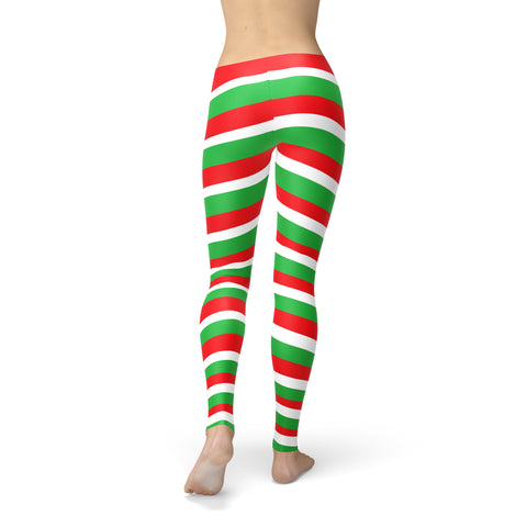Amber Red Green Candy Cane